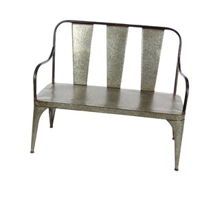 Gracie Oaks Osterley Iron Garden Bench