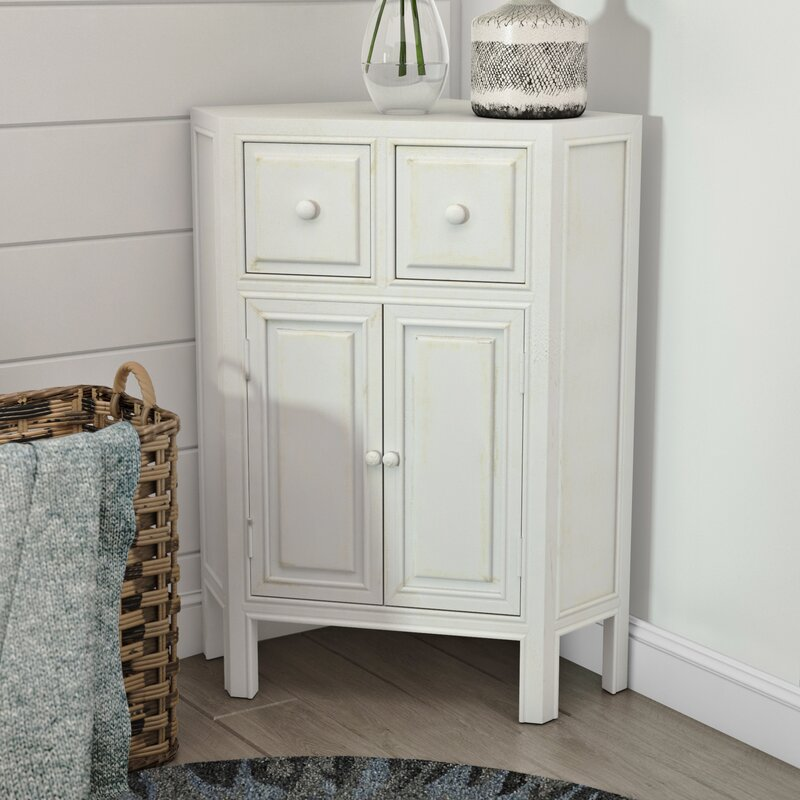 Top Rated Furniture Stores: Beachcrest Home Southard Corner Cabinet & Reviews