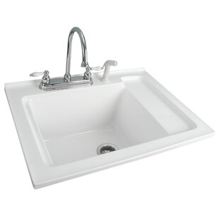 30 5 X 22 Drop In Laundry Sink