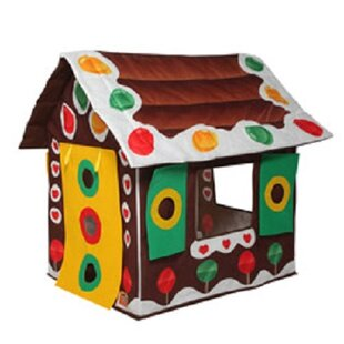 Great choice Gingerbread House 2.5' x 3.17' Playhouse By Bazoongi Kids