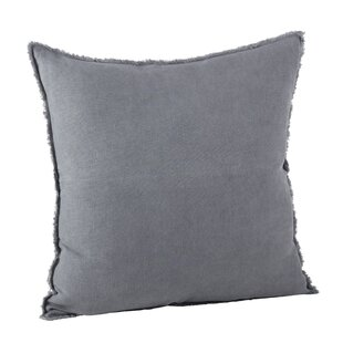 Scribner Linen Throw Pillow