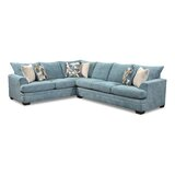 Alixander Sky 135 Sectional by Latitude Run®