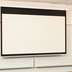 Manual SRM Pro Series MaxWhite Manual Projection Screen