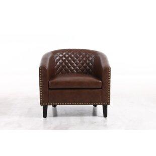 Carnelia Barrel Chair by Winston Porter