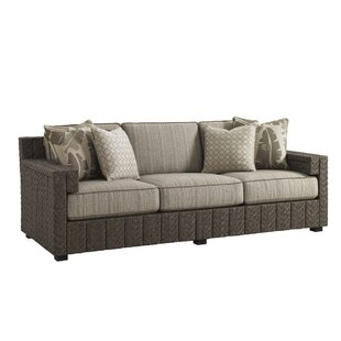 Tommy Bahama Outdoor Olive Patio Sofa wit..