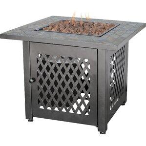 Uniflame Steel Fire Pit Table