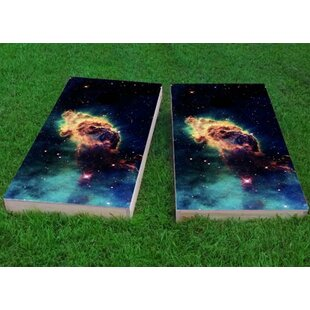 Custom Cornhole Boards Space Dust Cornhole Game (Set of 2)
