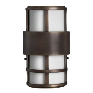 Saturn 2-Light Outdoor Sconce