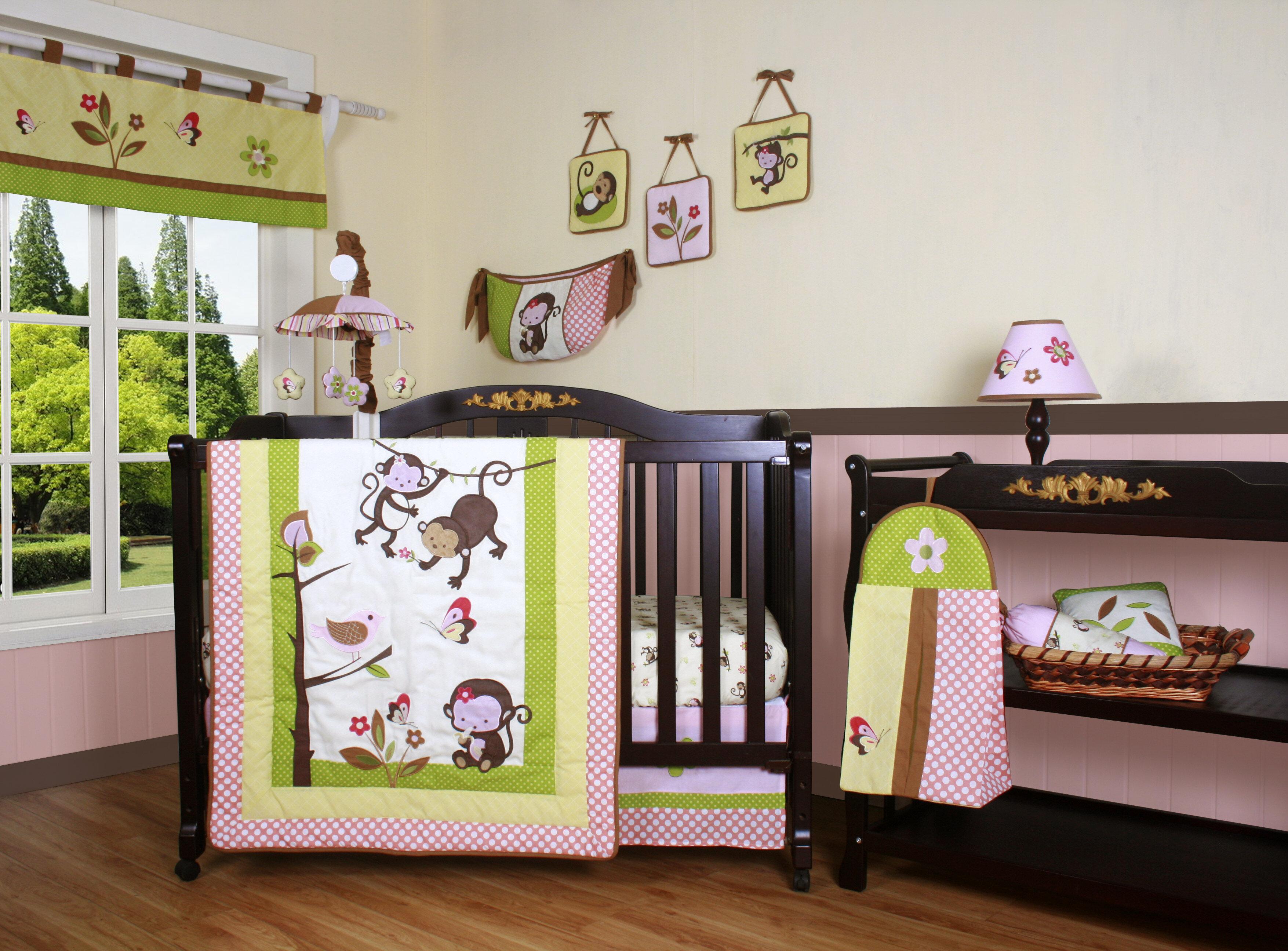 Zoomie Kids Fontaine 12 Piece Crib Bedding Set Reviews Wayfair