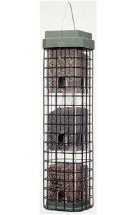Woodstream Hyde Havahart Squirrels Dilemma Caged Tube Bird Feeder