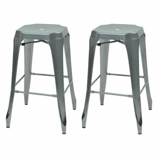 Kraft 75.5cm Bar Stool (Set Of 2) By Williston Forge