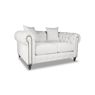 Shop Esters Plush Deep Chesterfield Sofa by Darby Home Co