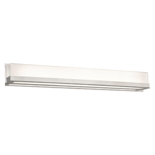 Read Reviews Alpert 1-Light LED Bath Bar By Orren Ellis