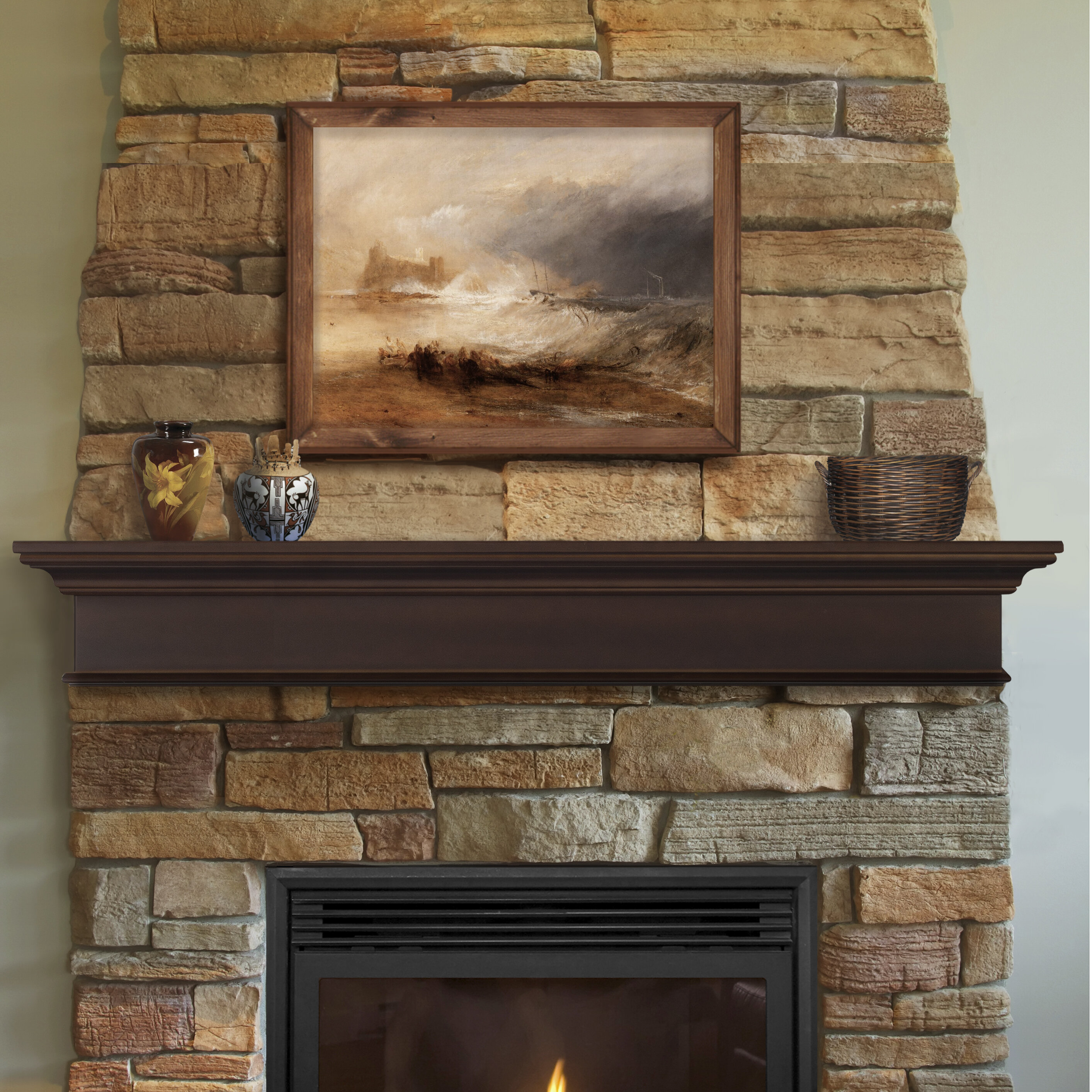 and fireplace for specializes furniture of perfect veneer in interior fresh faux stone sale mantel