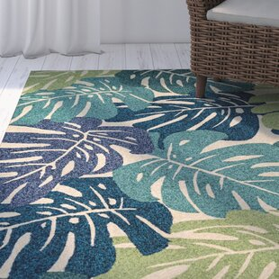 Totterdell Hand-Hooked Cream Area Rug by Beachcrest Home
