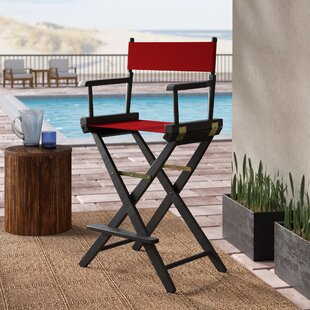 Scoville Folding Director Chair by Rosecliff Heights