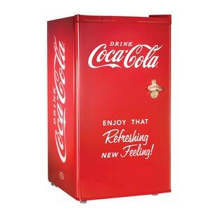 Coca-Cola Series 3.2 cu. ft Compact Refrigerator with Freezer