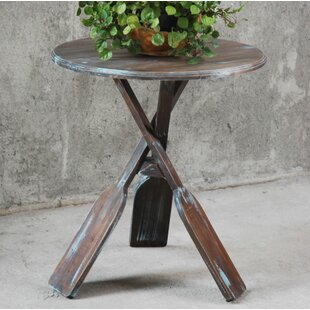 Erick Boat Oar End Table by Longshore Tides