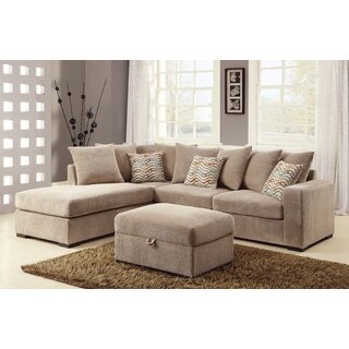 Albin Right Hand Facing Sectional by Loon Peak SKU:CC930896 Information