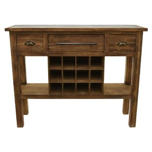 Asaad Modish Wooden Pub Table by Gracie Oaks