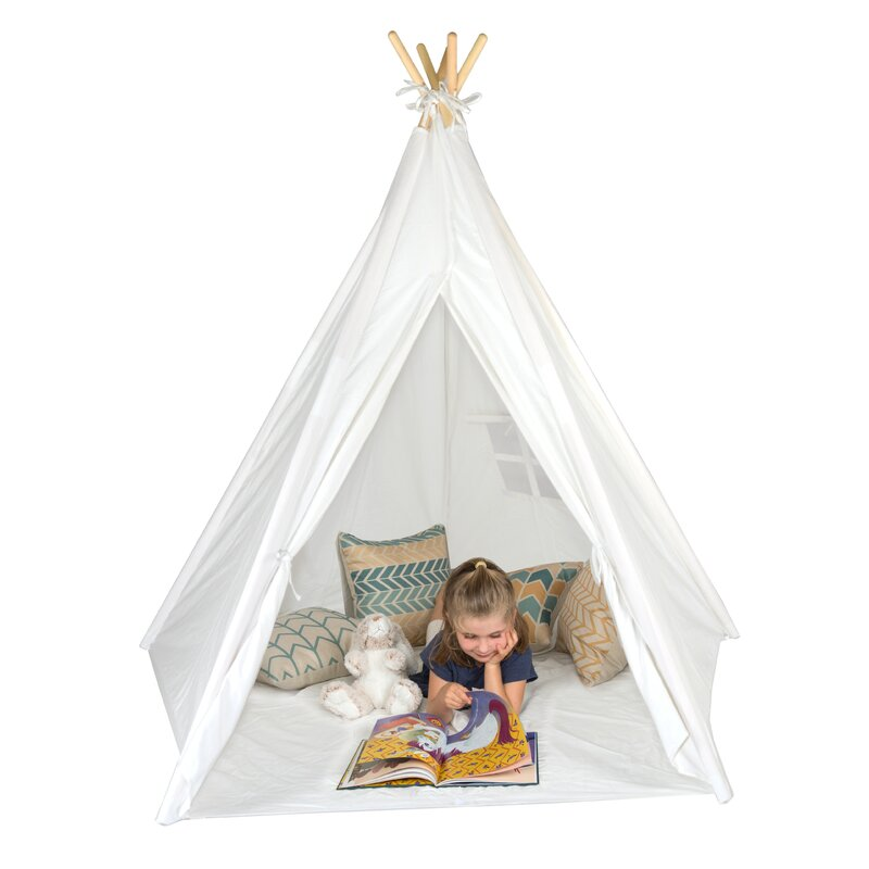 Authentic Giant Play Teepee with Carrying Bag