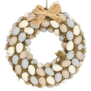 Egg Easter 30cm Acrylic Wreath By The Seasonal Aisle