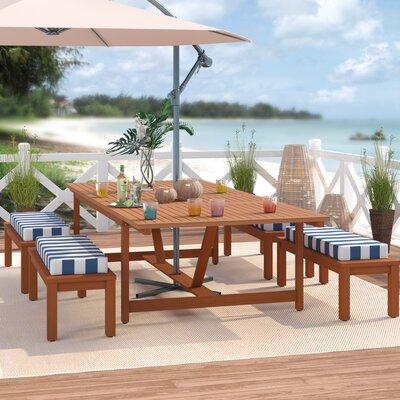 Elsmere 5 Piece Dining Set by Beachcrest Home 2020 Online