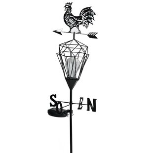 Northlight Seasonal Rooster Solar Powered 1 Light LED Pathway Light