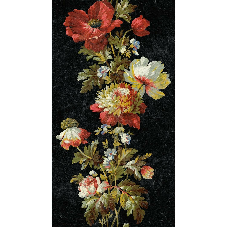 House Of Hampton Perla Vintage Floral Stripe 18 86 L X 18 W Peel