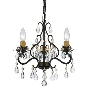 Alcott Hill Clifton 3-Light Candle Style Chandelier