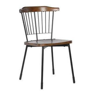 Alemany Solid Wood Dining Chair (Set of 2) by Gracie Oaks SKU:AD811950 Information