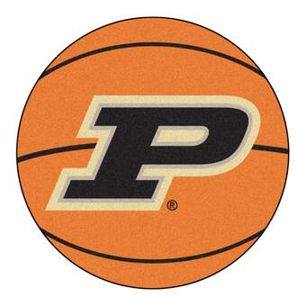 Fanmats Ncaa Purdue University Roundel 27 In X 27 In Non Slip Indoor Only Mat Wayfair
