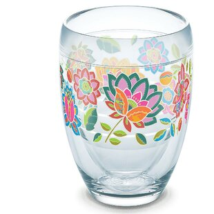 Garden Party Boho Chic 9 oz. Stemless Wine Glass by Tervis Tumbler