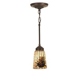 Meyda Tiffany Pine Barons 1-Light Cone Pe..