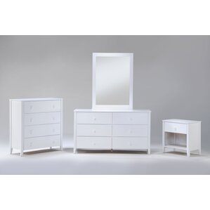Zest 6 Drawer Double Dresser by Night & Day Furniture