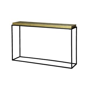 Sydnie Console Table By World Menagerie