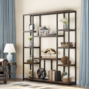 Birthel 7086 H x 59 W Metal Etagere Bookcase