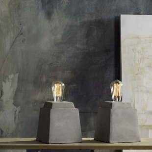 Channing Opal Concrete 11.75 Table Lamp (Set of 2)