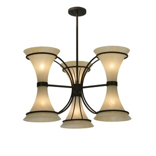 Meyda Tiffany Chronos 6-Light Shaded Chandelier