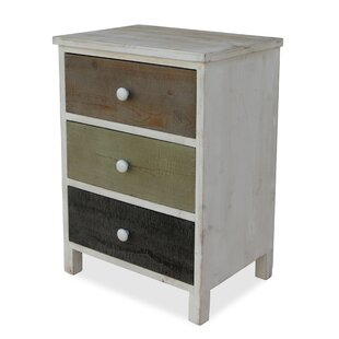 Affordable 3 Drawer Nightstand by Cheungs
