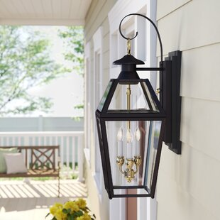Estevan 3-Light Outdoor Wall Lantern