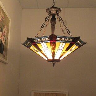Astoria Grand Charlotte 3-Light Bowl Pendant