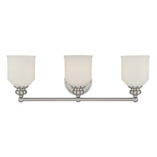 Charlton Home Genevieve 3-Light Vanity Light