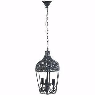 Elma 3-Light Lantern Pendant by Fleur De ..