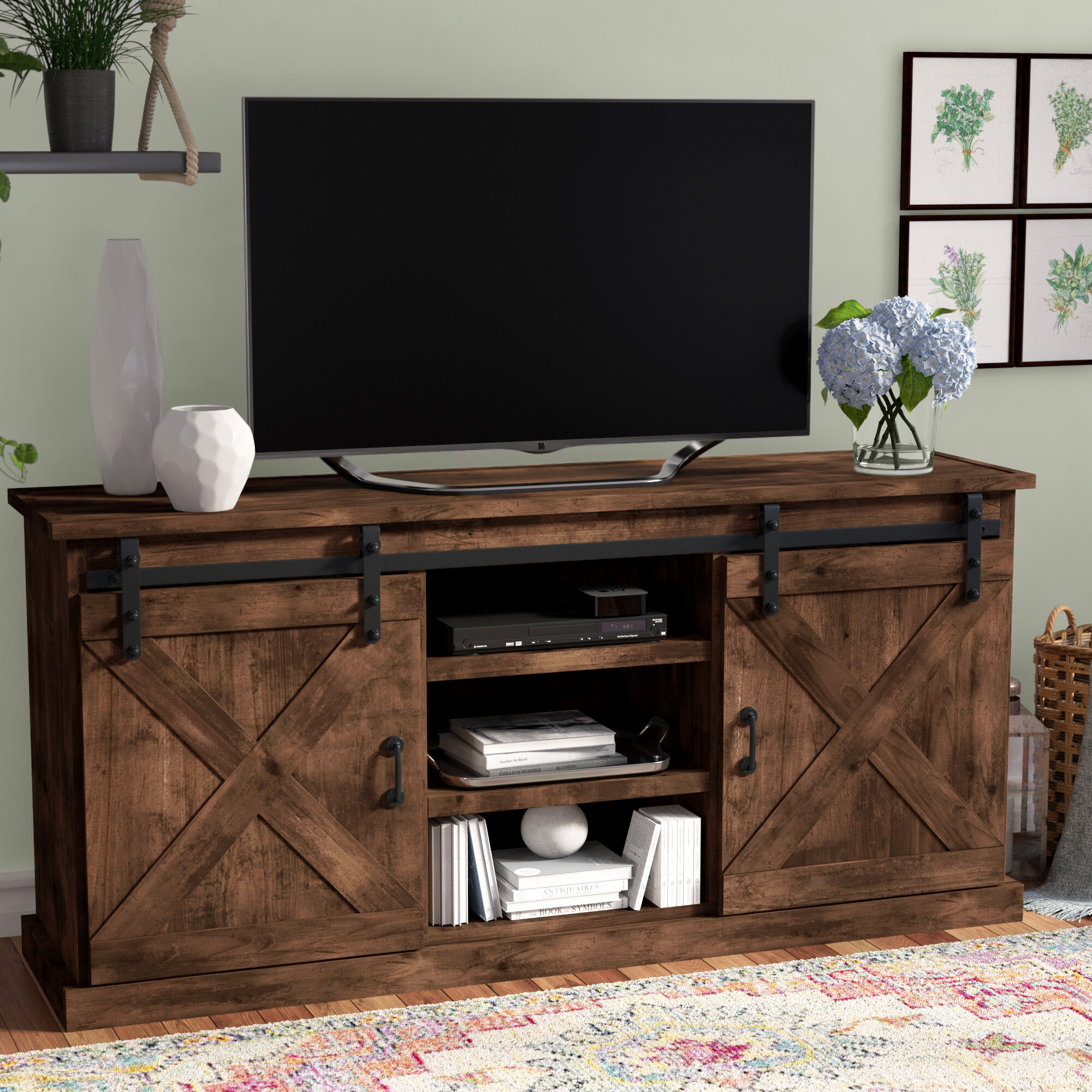 Laurel Foundry Modern Farmhouse Clair Tv Stand For Tvs Up To 70 Reviews Wayfair
