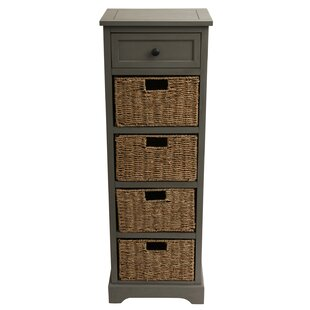 Ardina 1 Drawer Linen Tower by Beachcrest Home