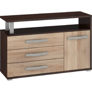 Deramus 3 Drawers Combi Chest By 17 Stories