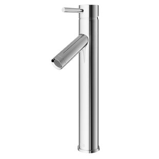 VIGO Dior Single Hole Bathroom Faucet with Optional Drain Assembly