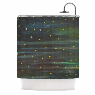 'Star Fields' Single Shower Curtain