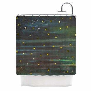 'Star Fields' Single Shower Curtain
